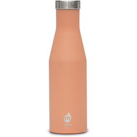 MIZU S4 Borraccia with Stainless Steel Cap 400ml arancione